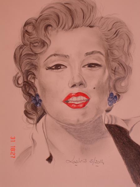 Marilyn Monroe por Lostris